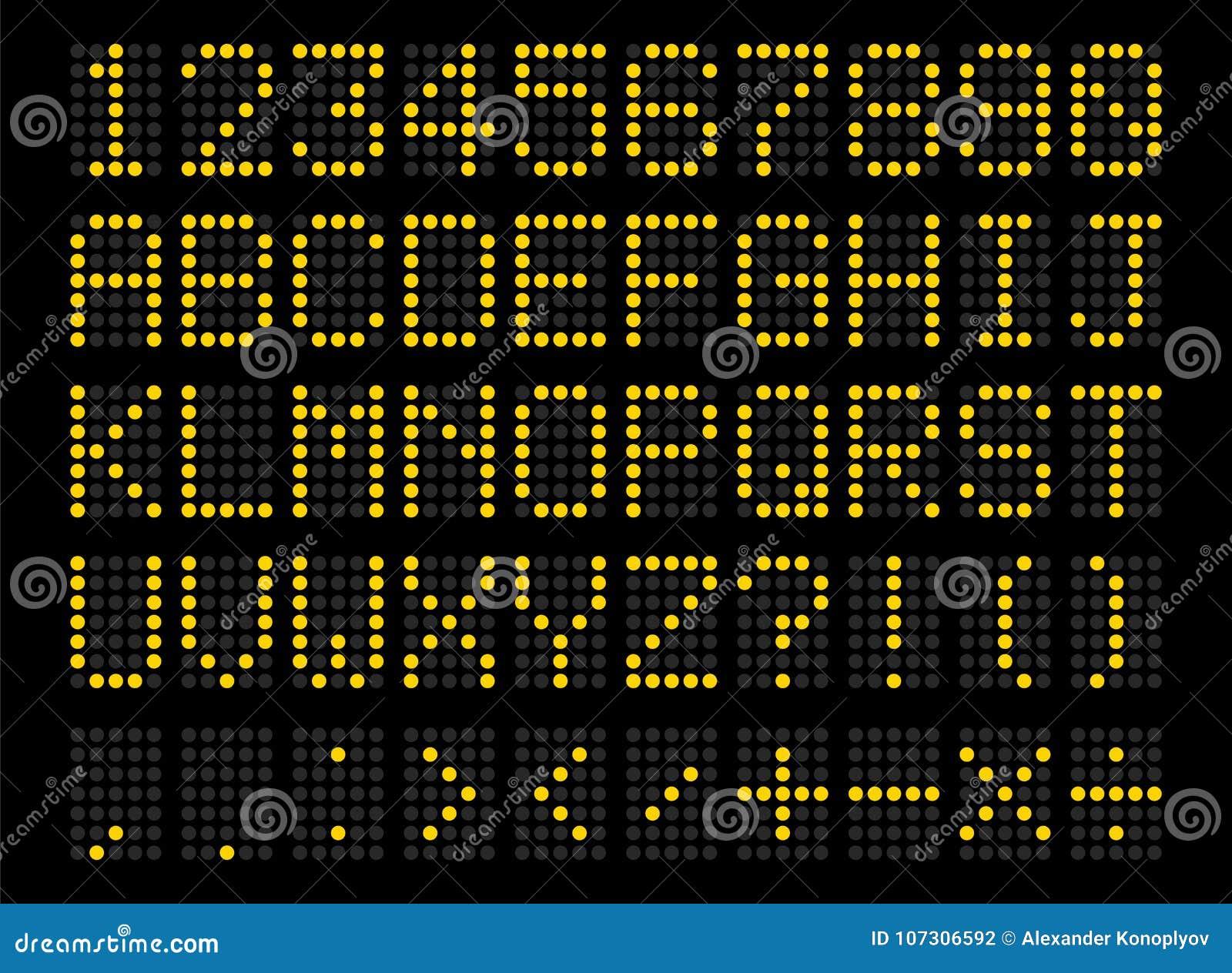 Geleid digitaal alfabet