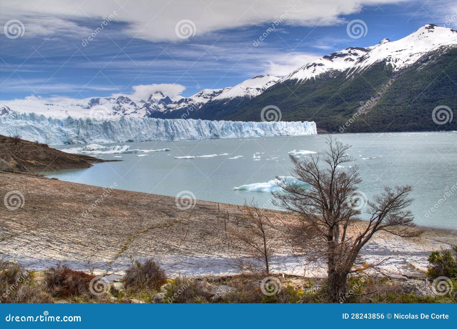 Geleira de Perito Moreno no EL Calafate, Argentina