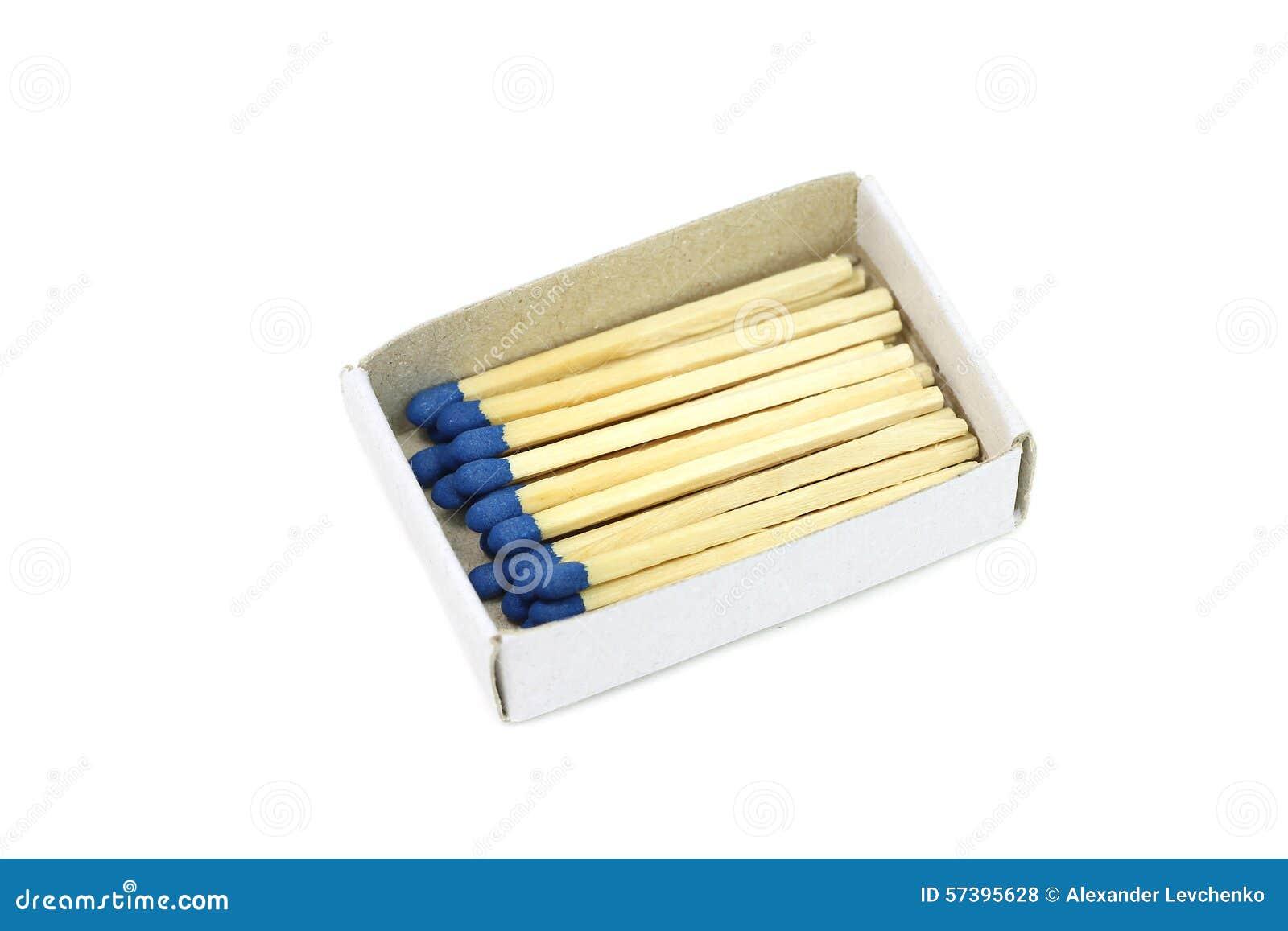 Gelijken met blauw hoofd in een doos