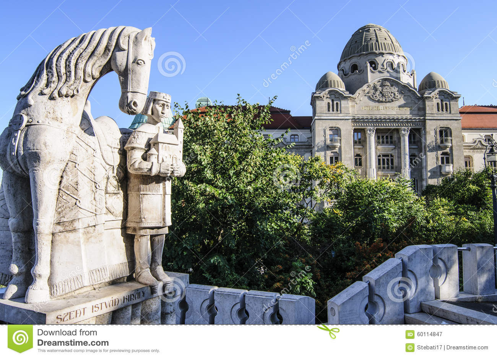 Gellert de los cuartos de baño de Budapest Hungría Europa