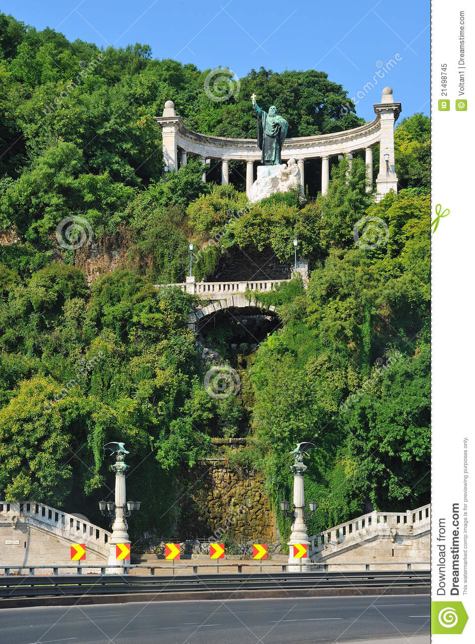 Gellert Hill In Budapest Royalty Free Stock Photo Image