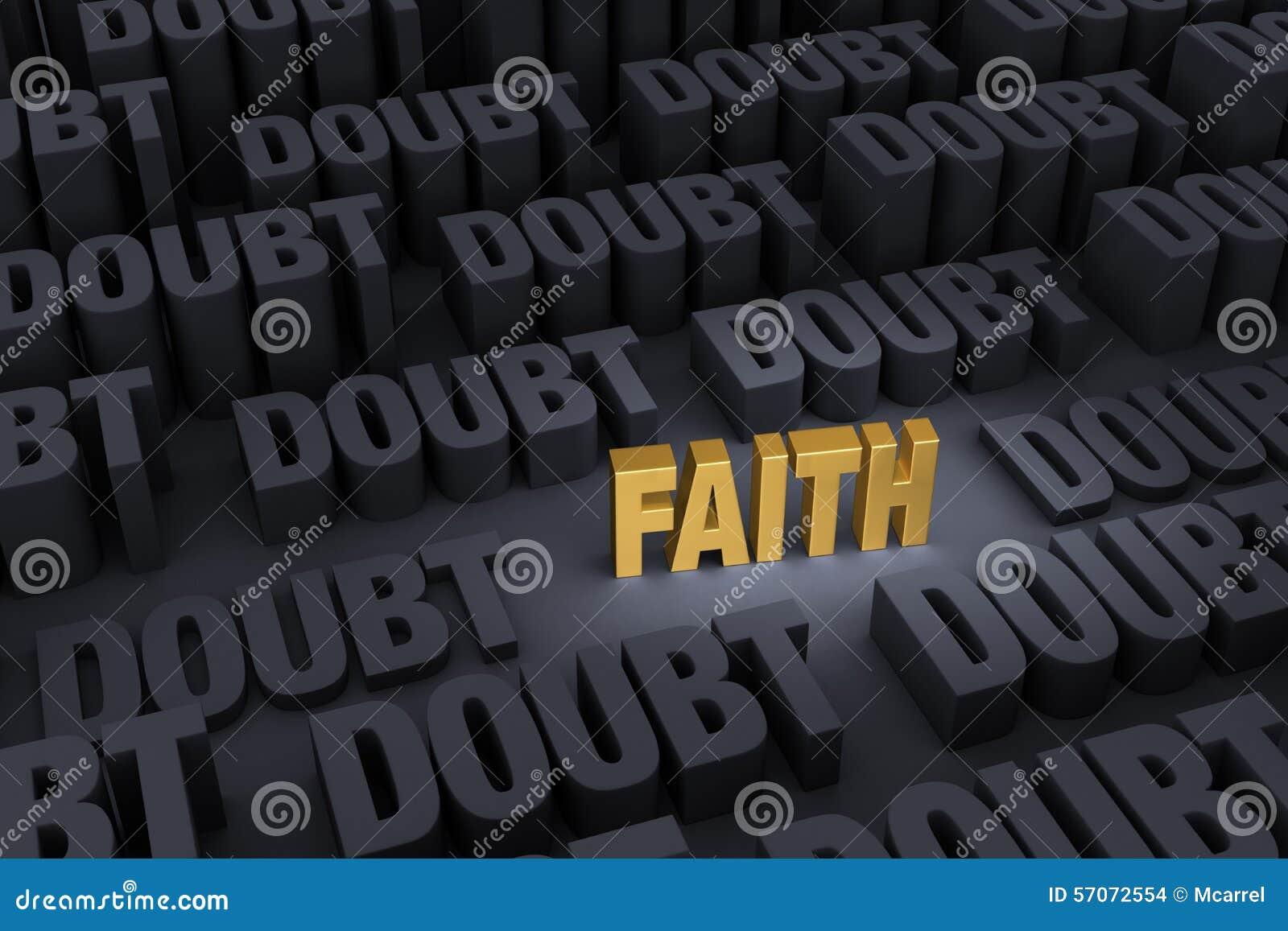Geloof tegen Overweldigende Twijfel