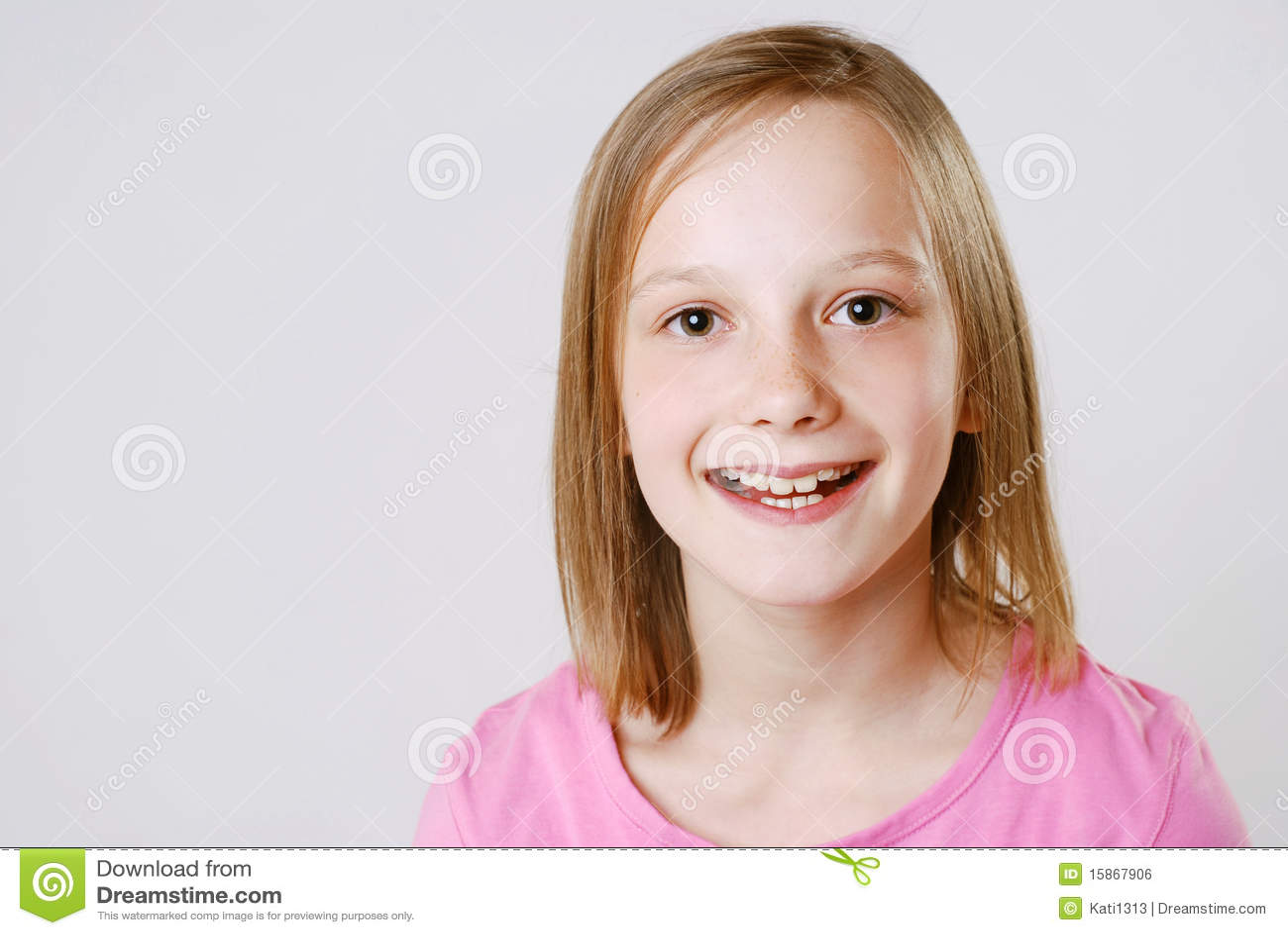 Gelukkig meisje royalty vrije stock afbeelding afbeelding 15867906 - Foto tiener ruimte meisje ...