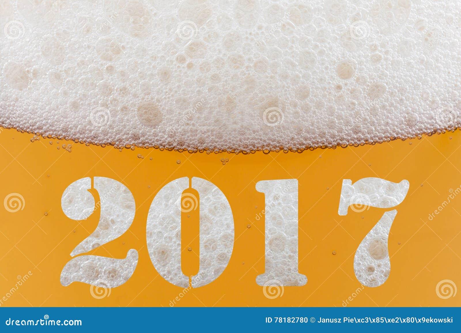 Gelukkig Nieuwjaar 2017 Stock Foto Afbeelding Bestaande Uit