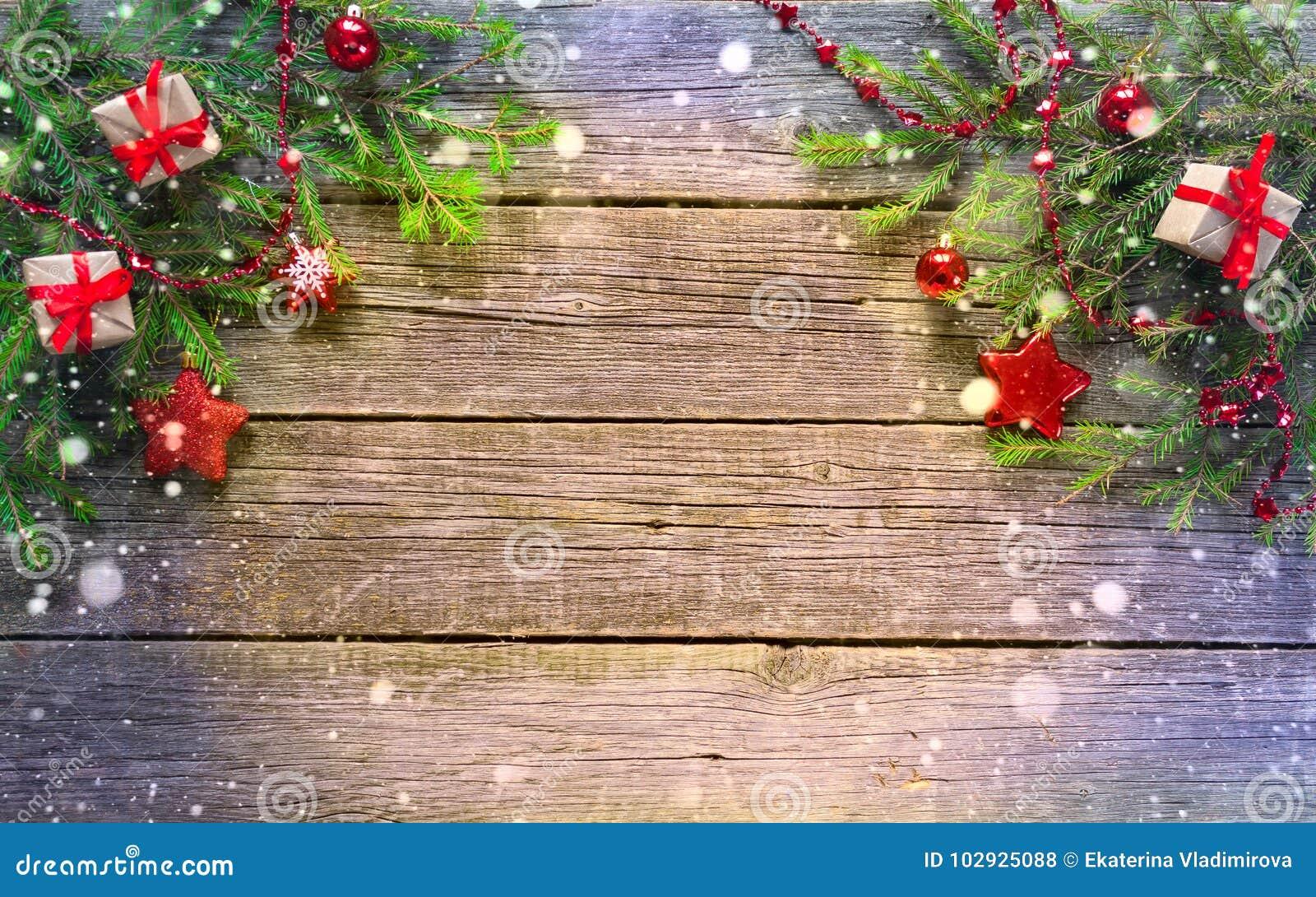 Gelukkig Nieuwjaar en Vrolijke Kerstmis Achtergrond