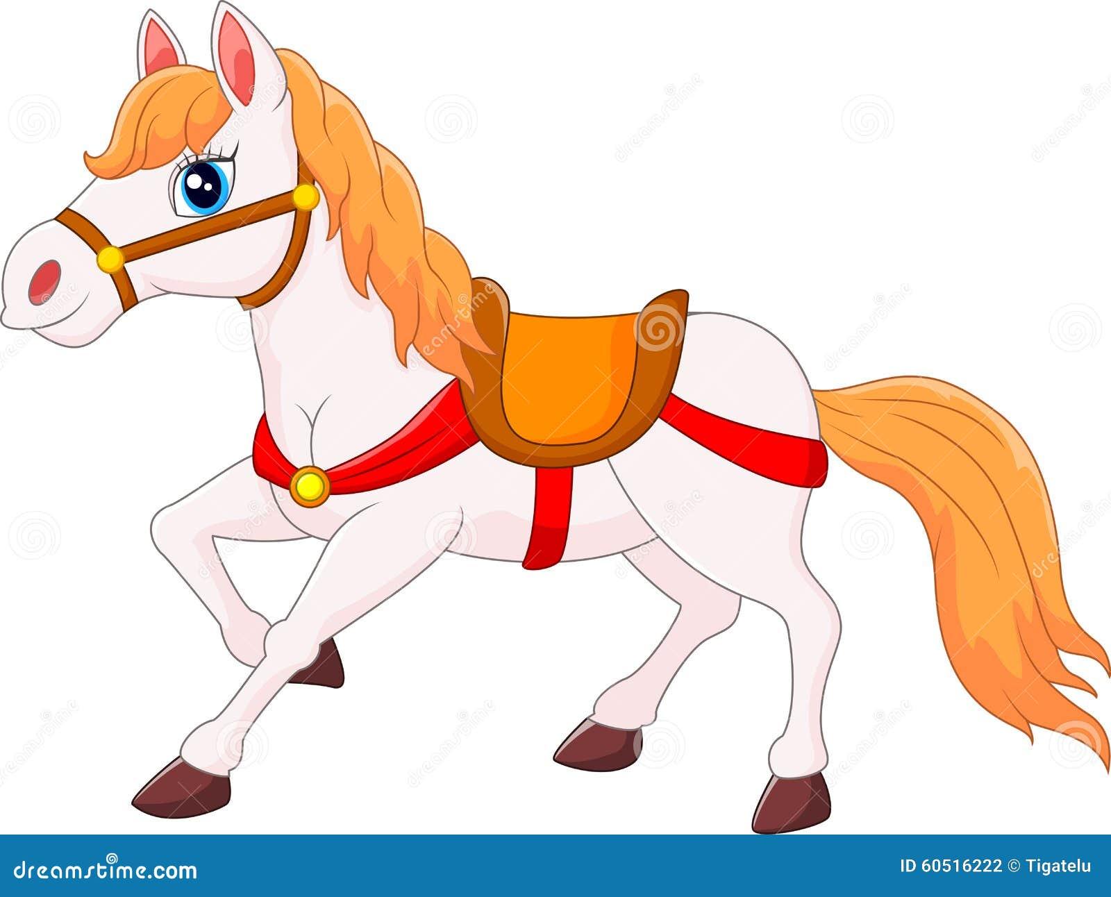 Gelukkig paardbeeldverhaal