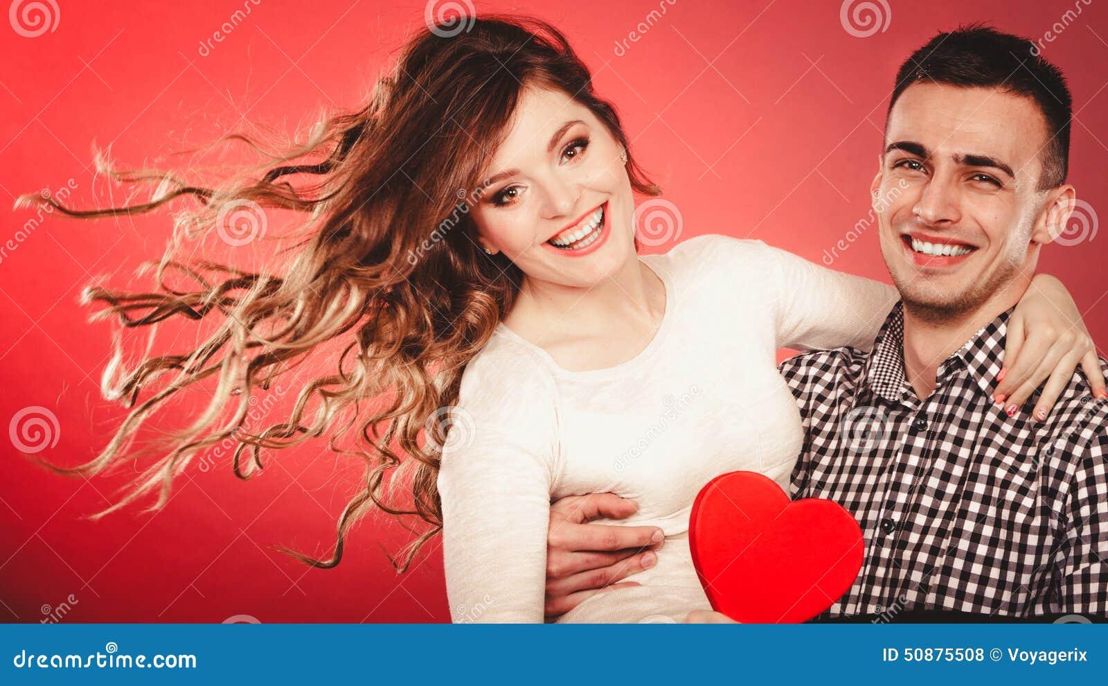 Junges Paar Fickt Romantisch Hart