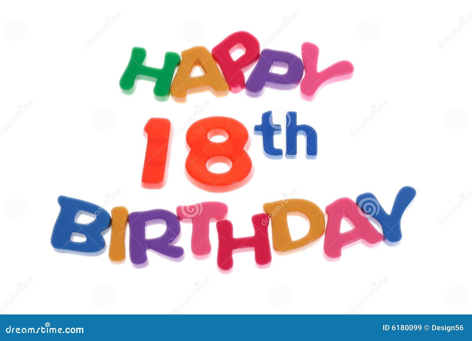 18de verjaardag vieren