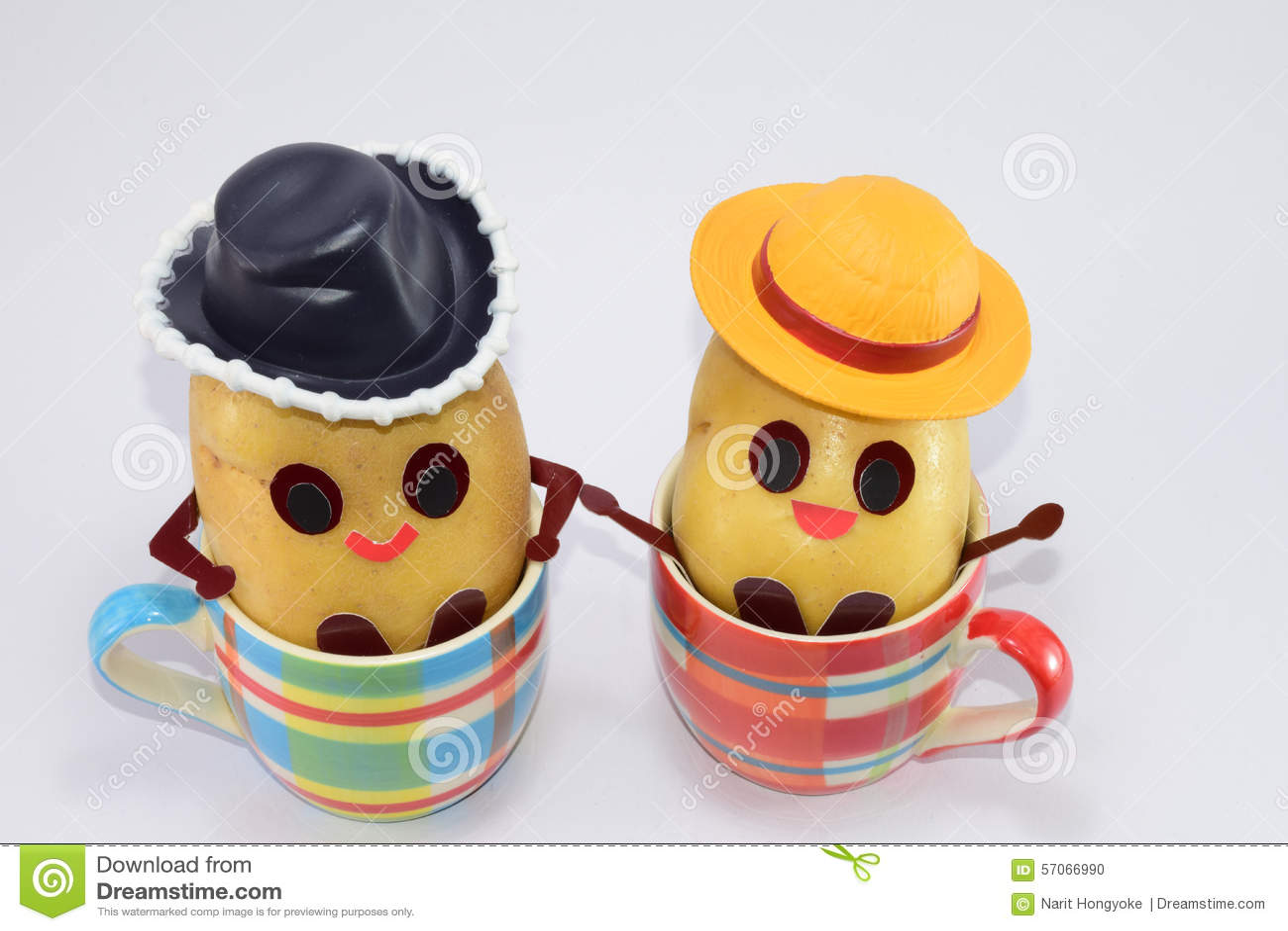 Gelukkige aardappels
