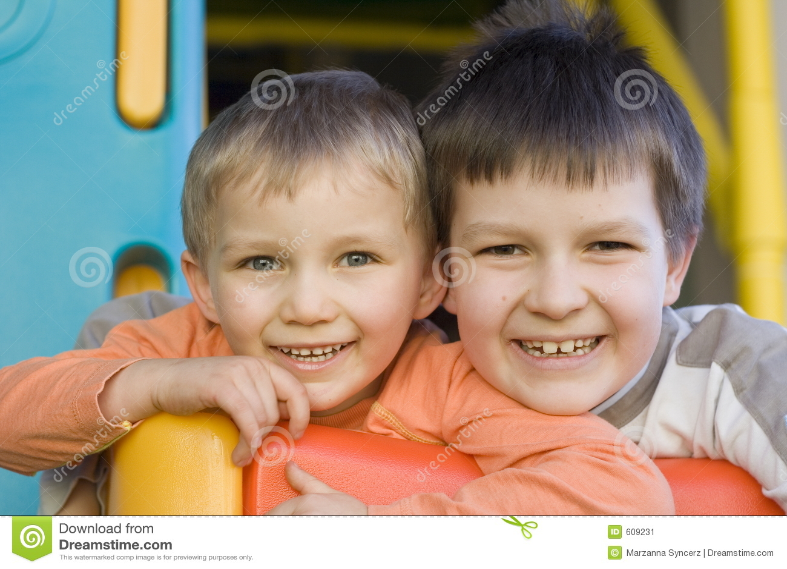 Gelukkige broers