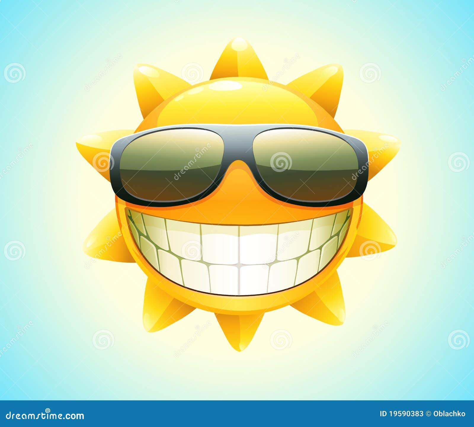 Gelukkige de zomerzon