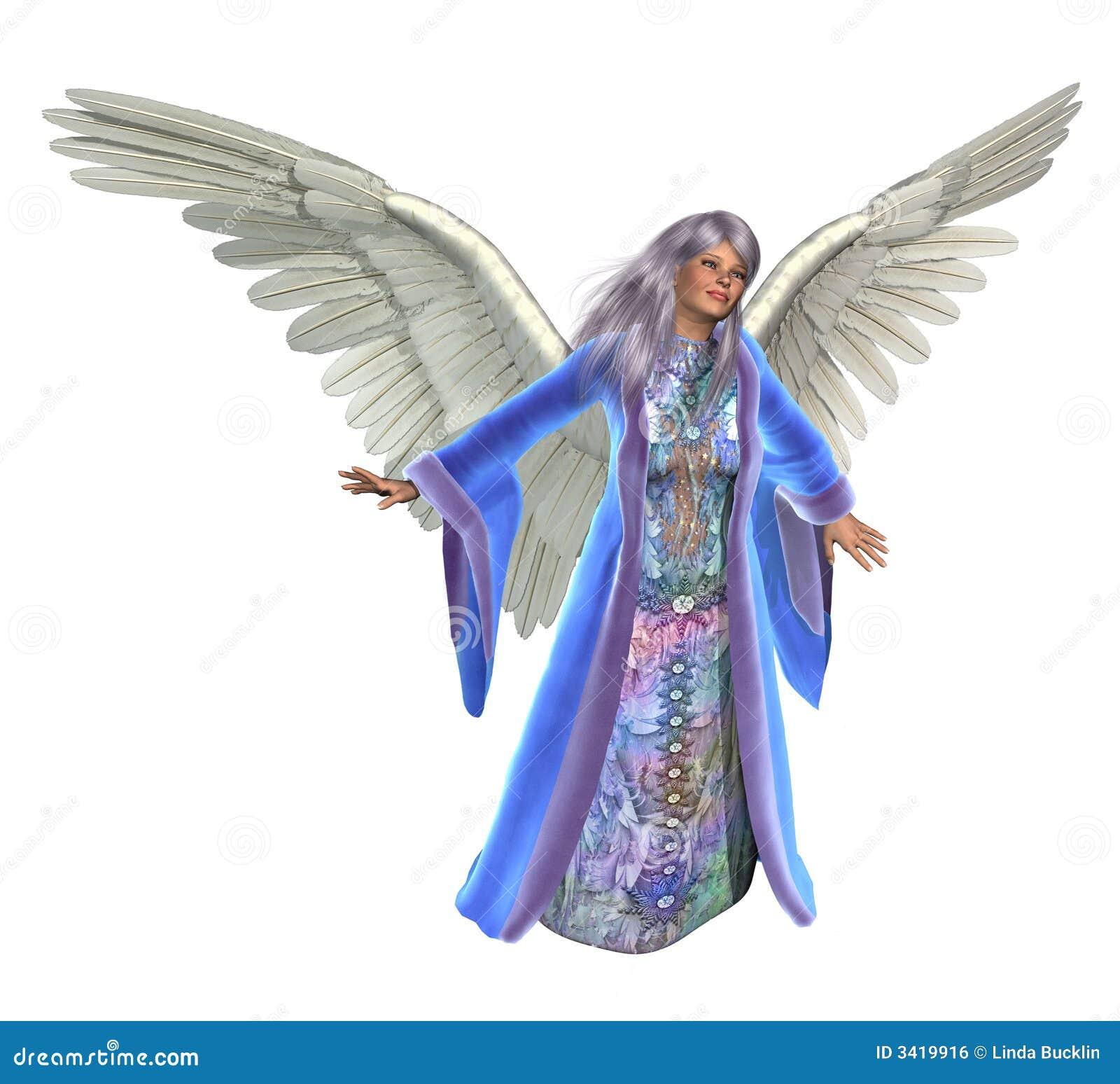 Gelukkige Engel - op wit