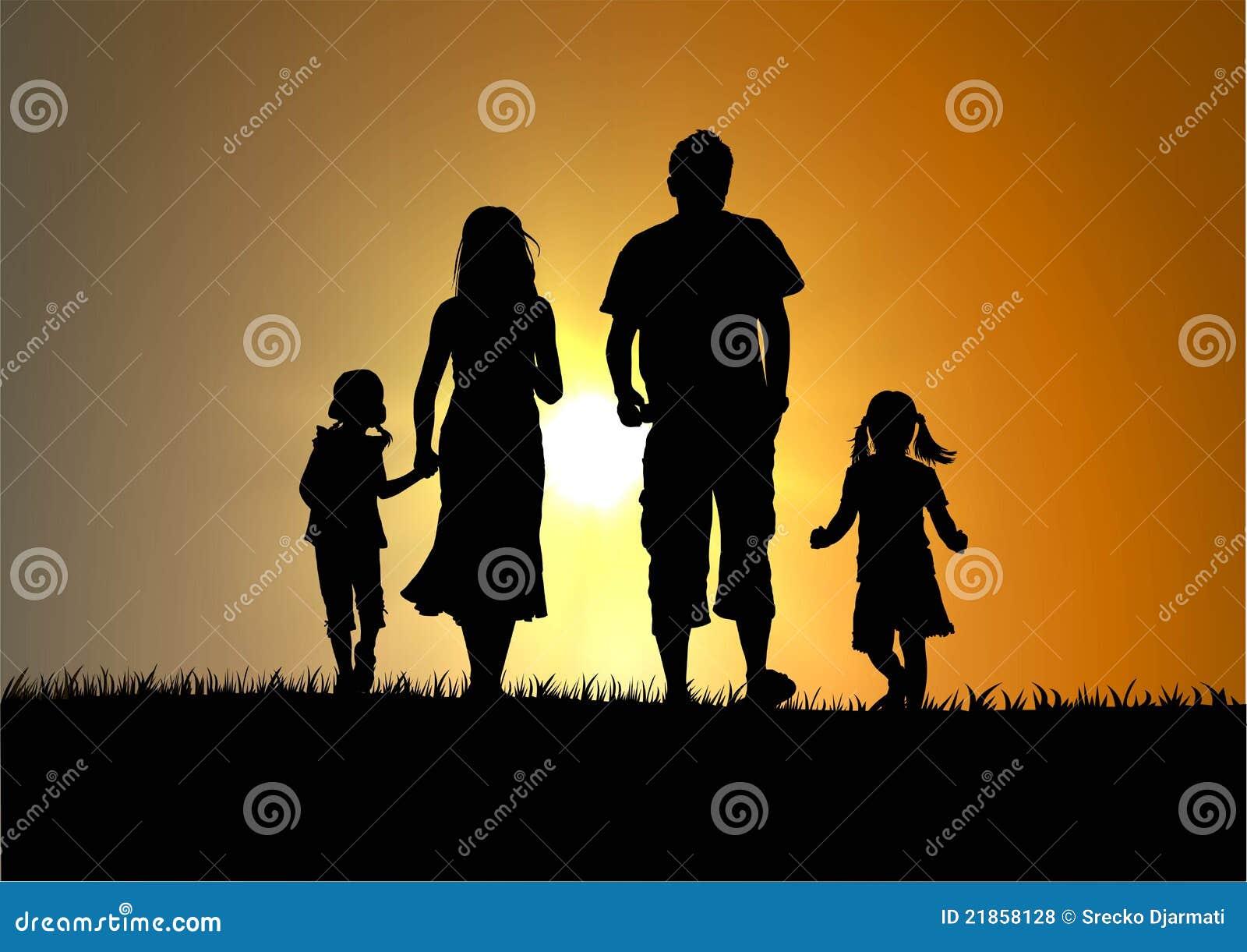 Gelukkige familie