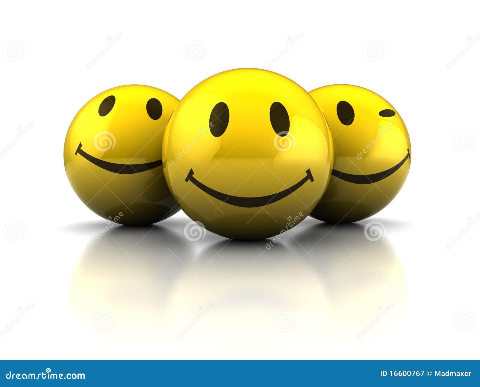 Gelukkige gezichten