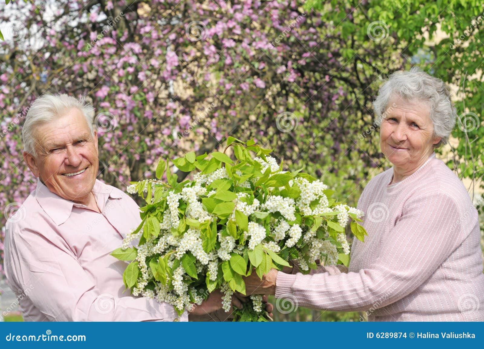 Gelukkige grootouders
