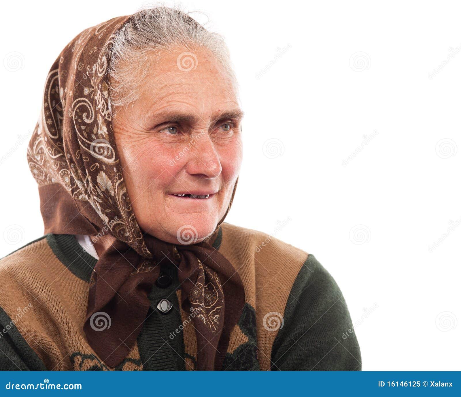 Gelukkige hogere vrouw