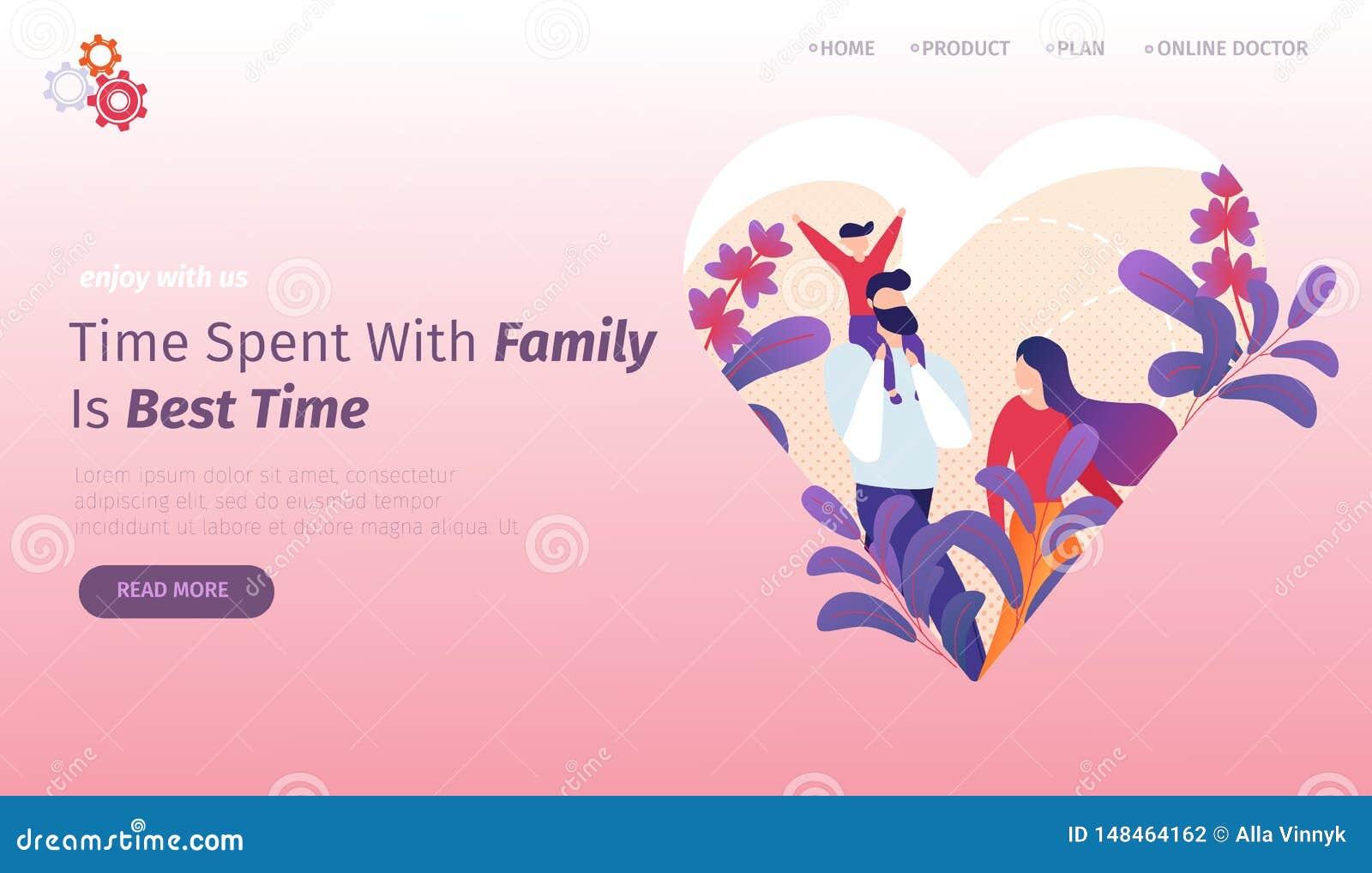 Gelukkige jonge familie die samen lopen Het levensogenblikken