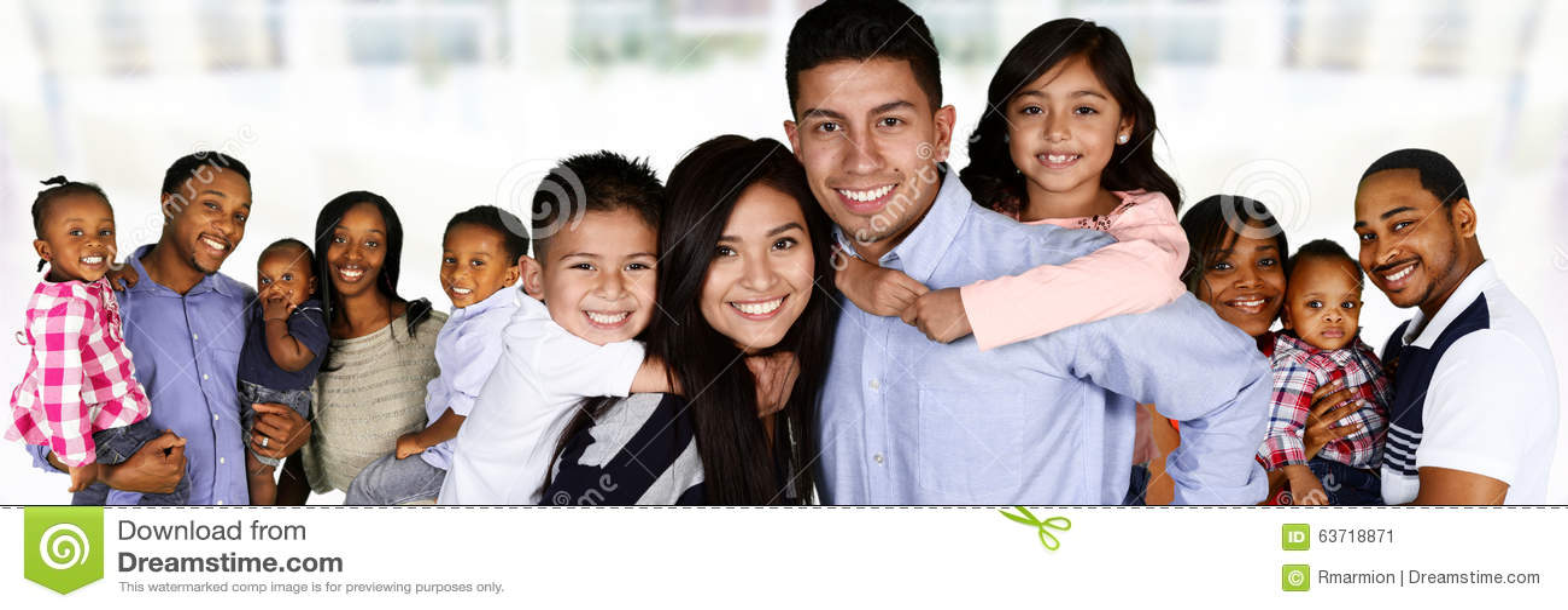 Gelukkige Jonge Families