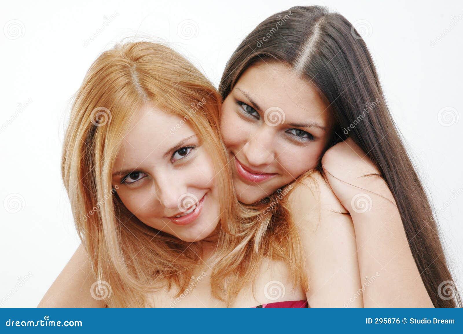 Gelukkige meisjes