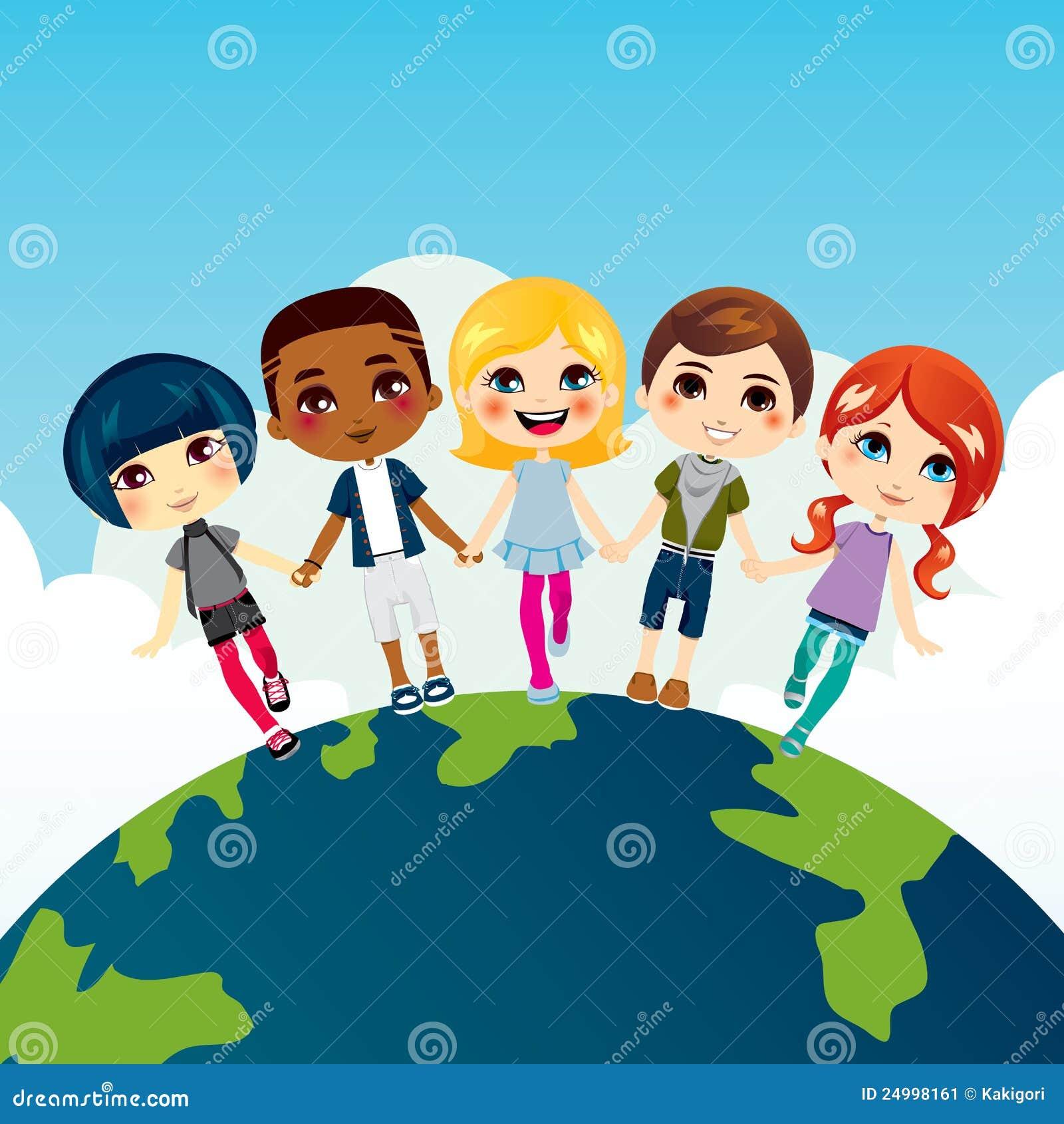 Gelukkige multi-Etnische Kinderen