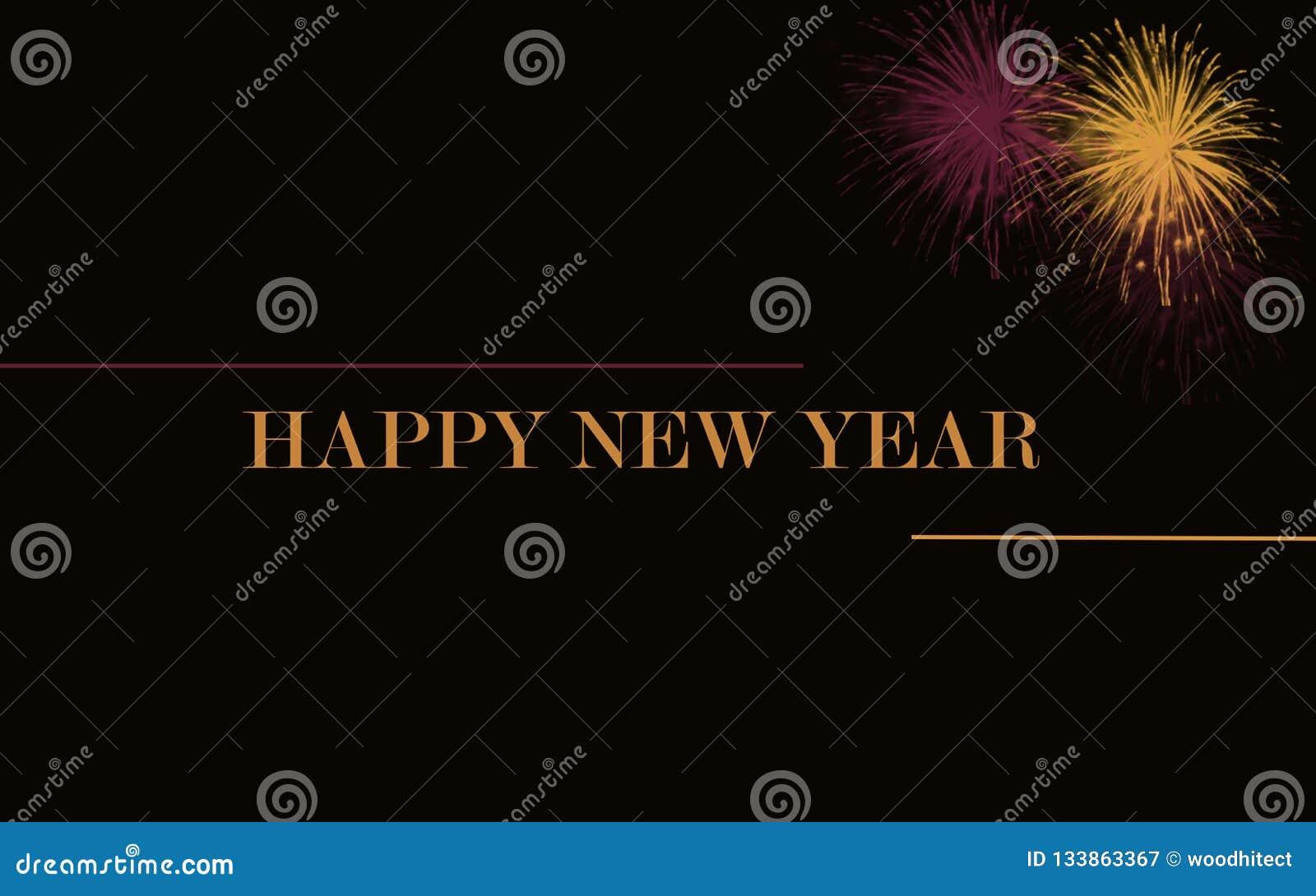Gelukkige nieuwe jaar 2019 achtergrond