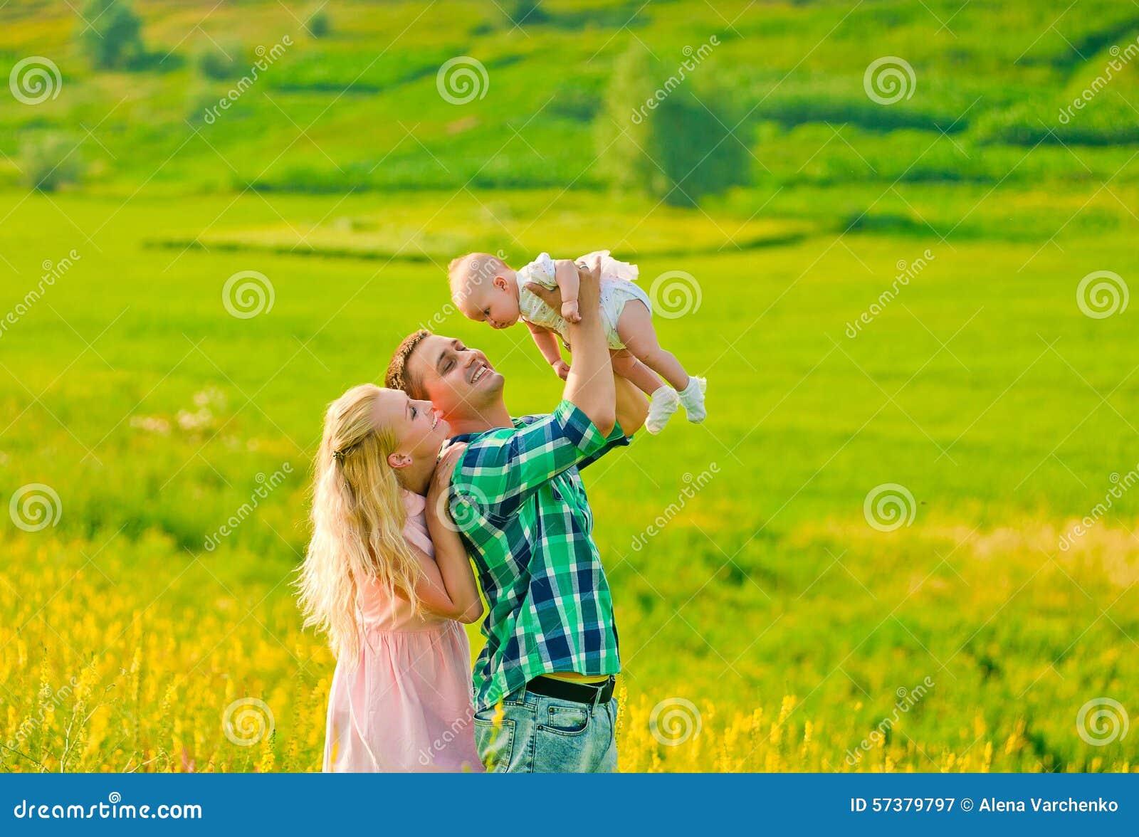 Gelukkige ouders