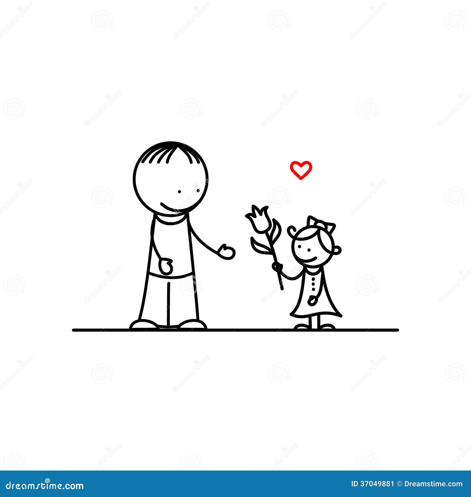 gelukkige vaderdag vector illustratie illustratie