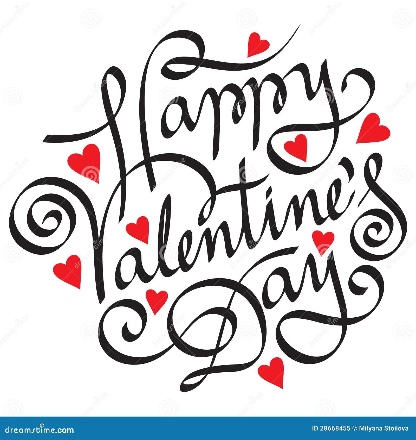Gelukkige valentijnskaartdag
