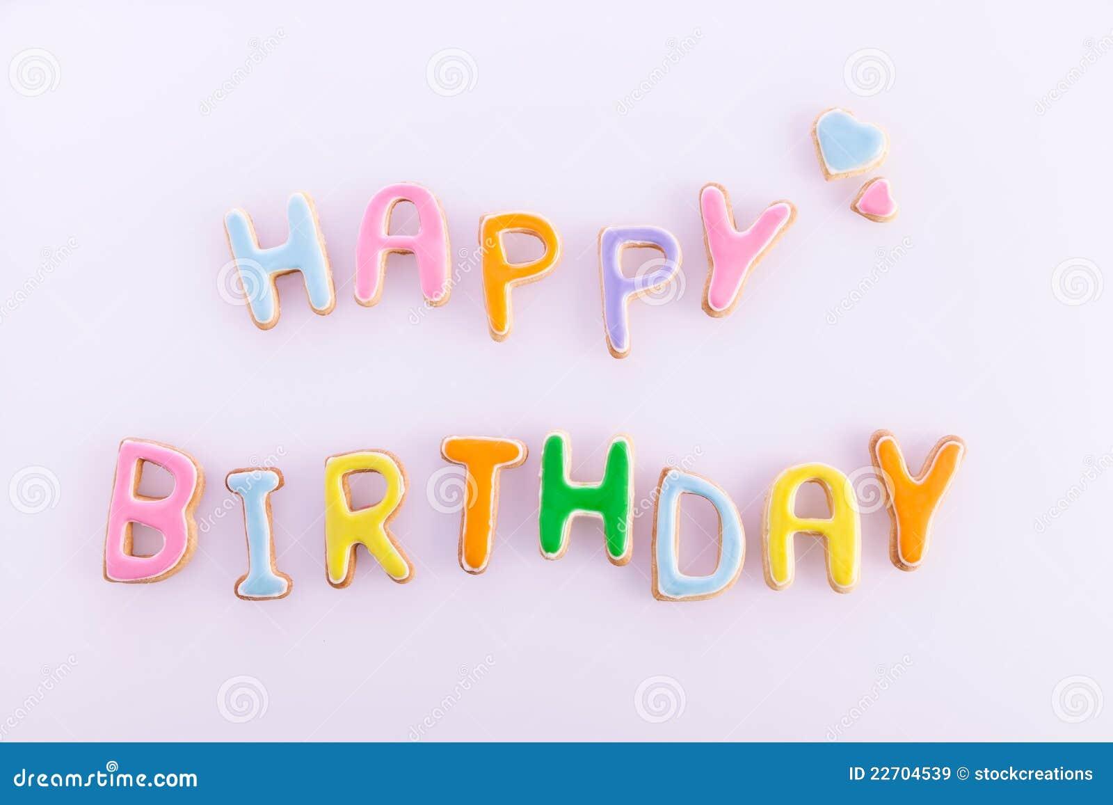 Gelukkige Verjaardagswensen Stock Foto Afbeelding Bestaande Uit