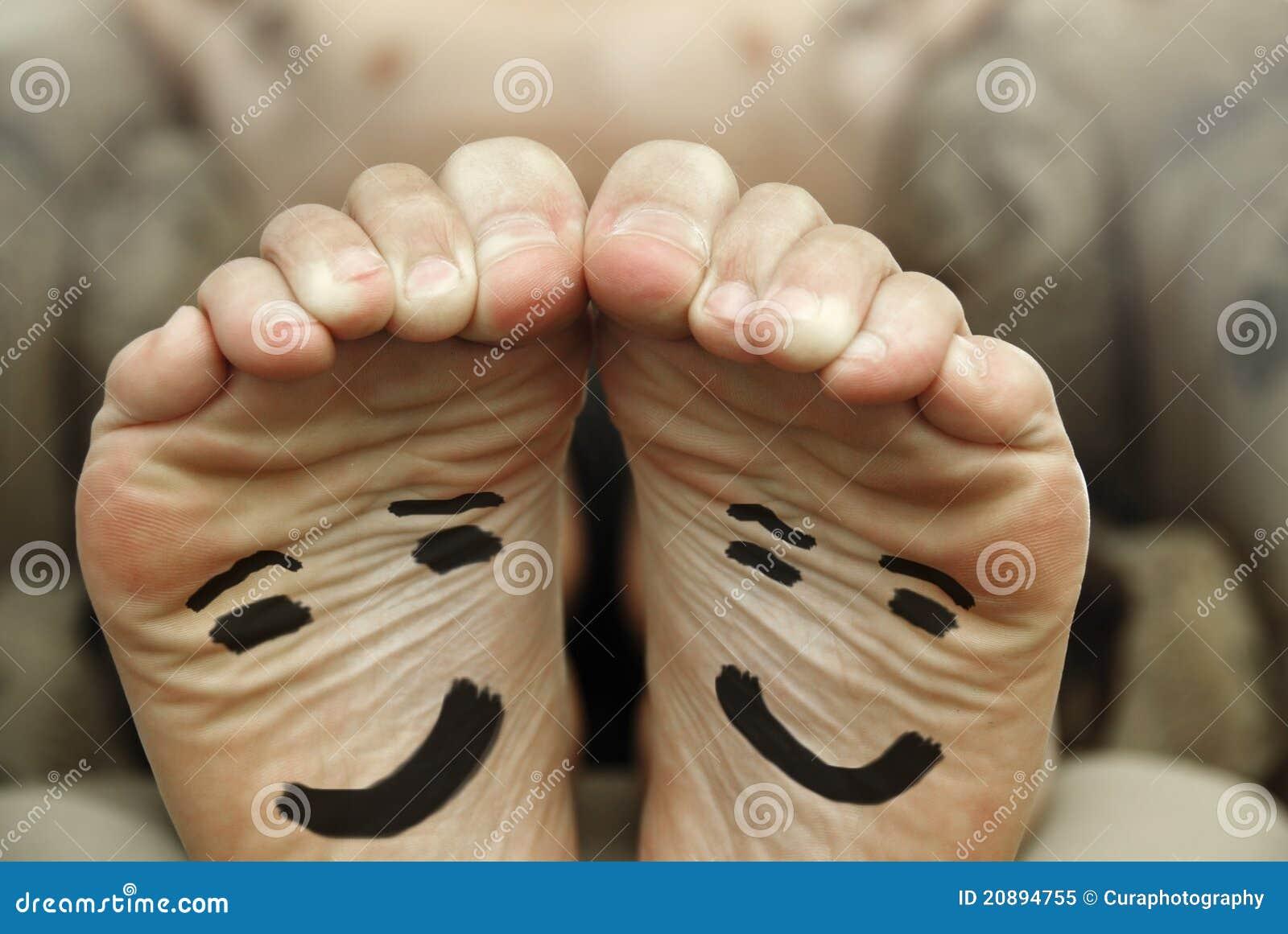Gelukkige voeten