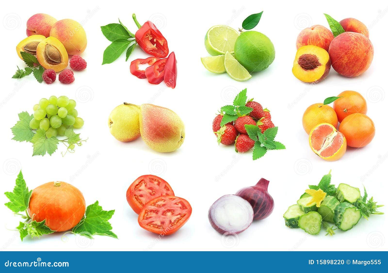 Gemüse und Frucht