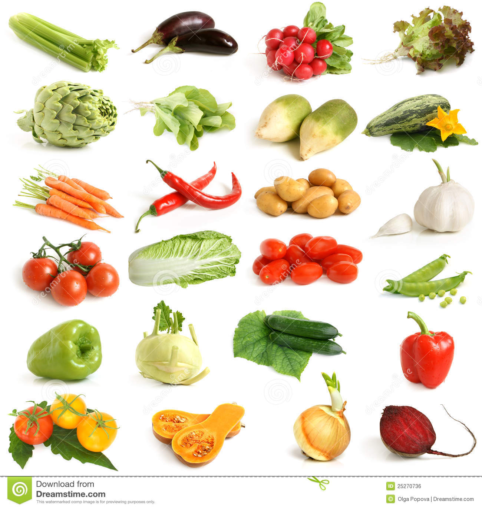 Gemüseansammlung