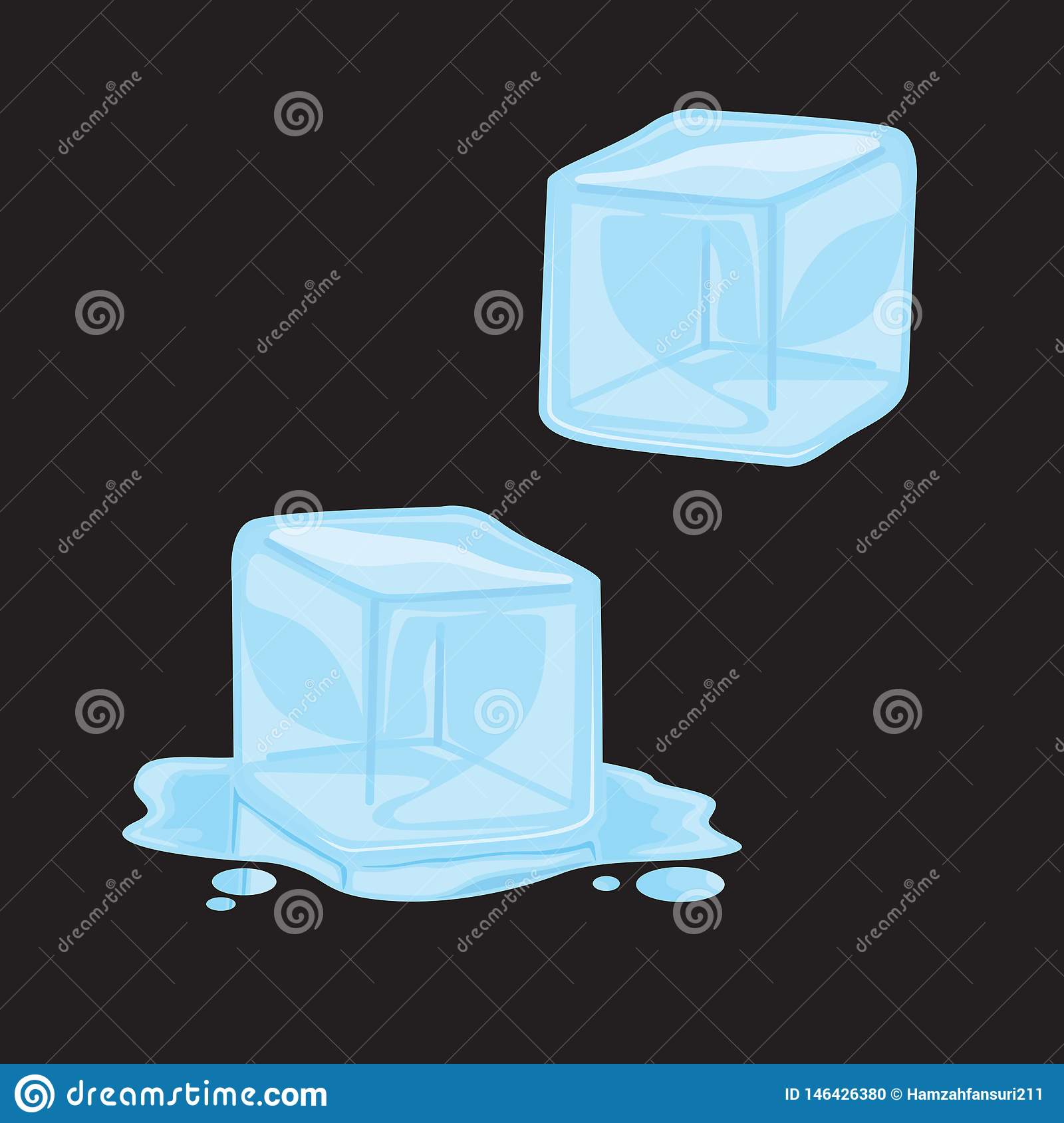 Gem Art Vector Illustration f?r iskub