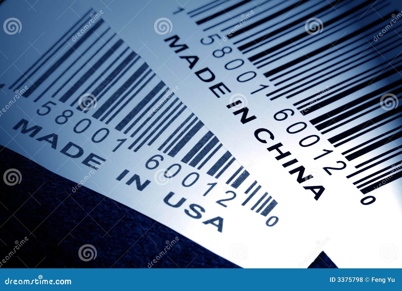 Gemaakt in China of de V.S.