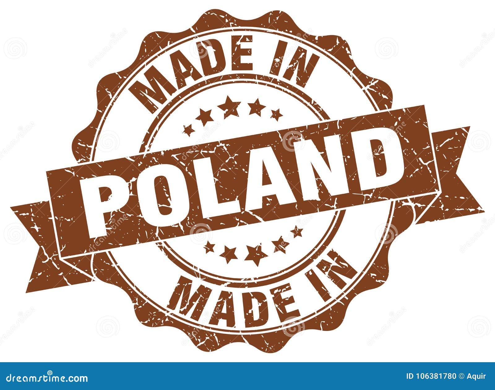 Gemacht in Polen-Dichtung