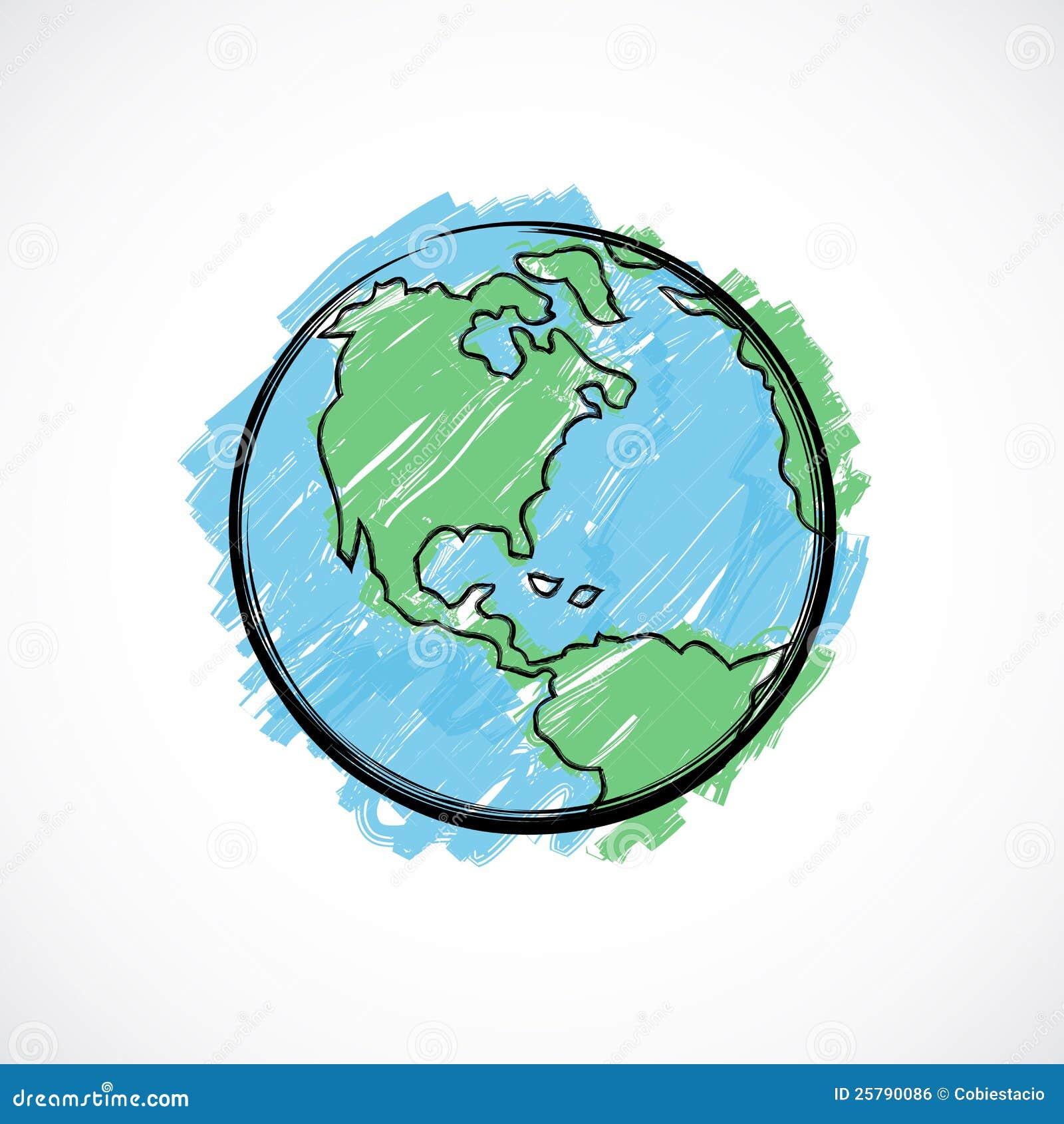 Erde Zeichnung