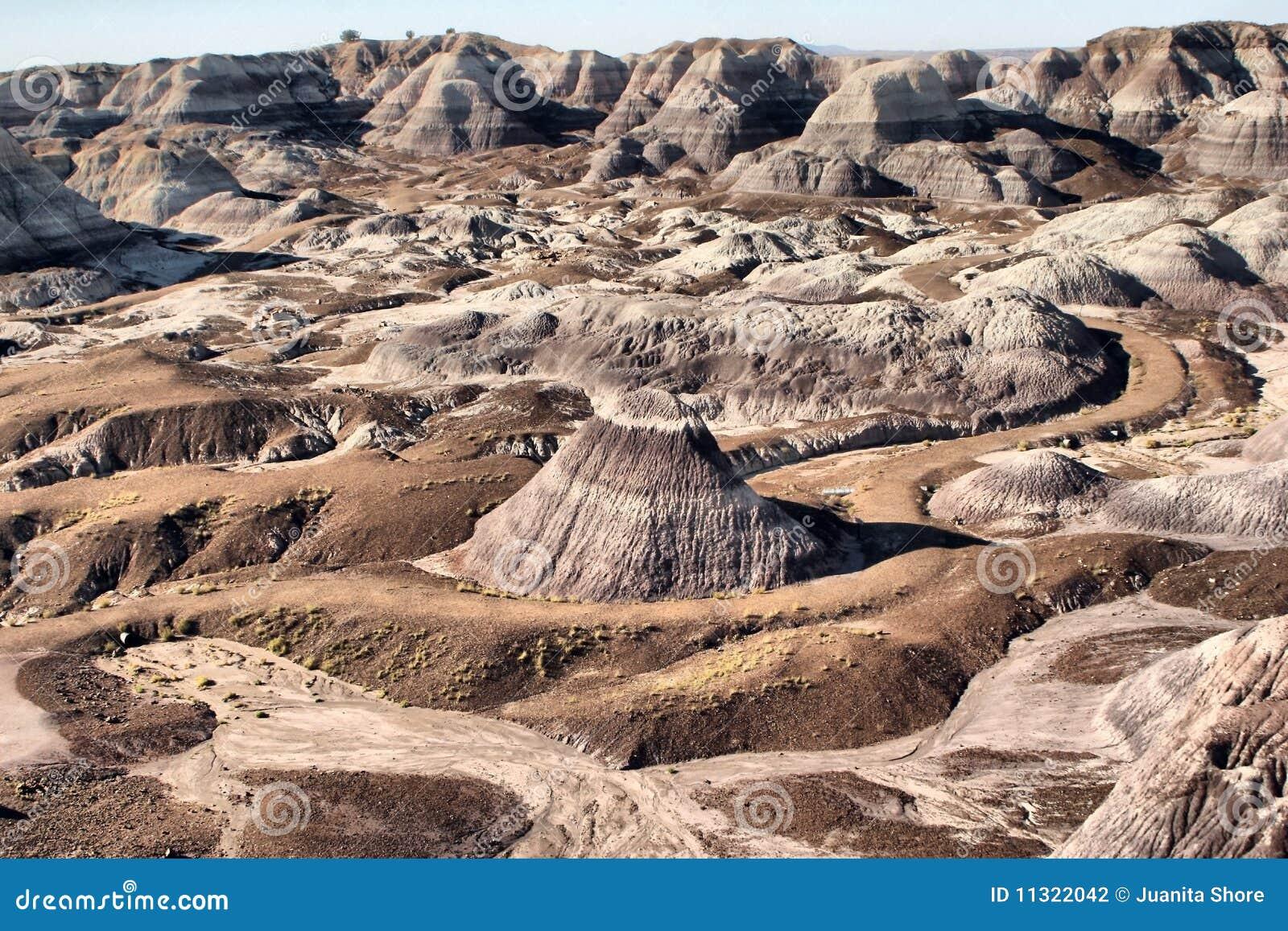 Gemalte Wüste