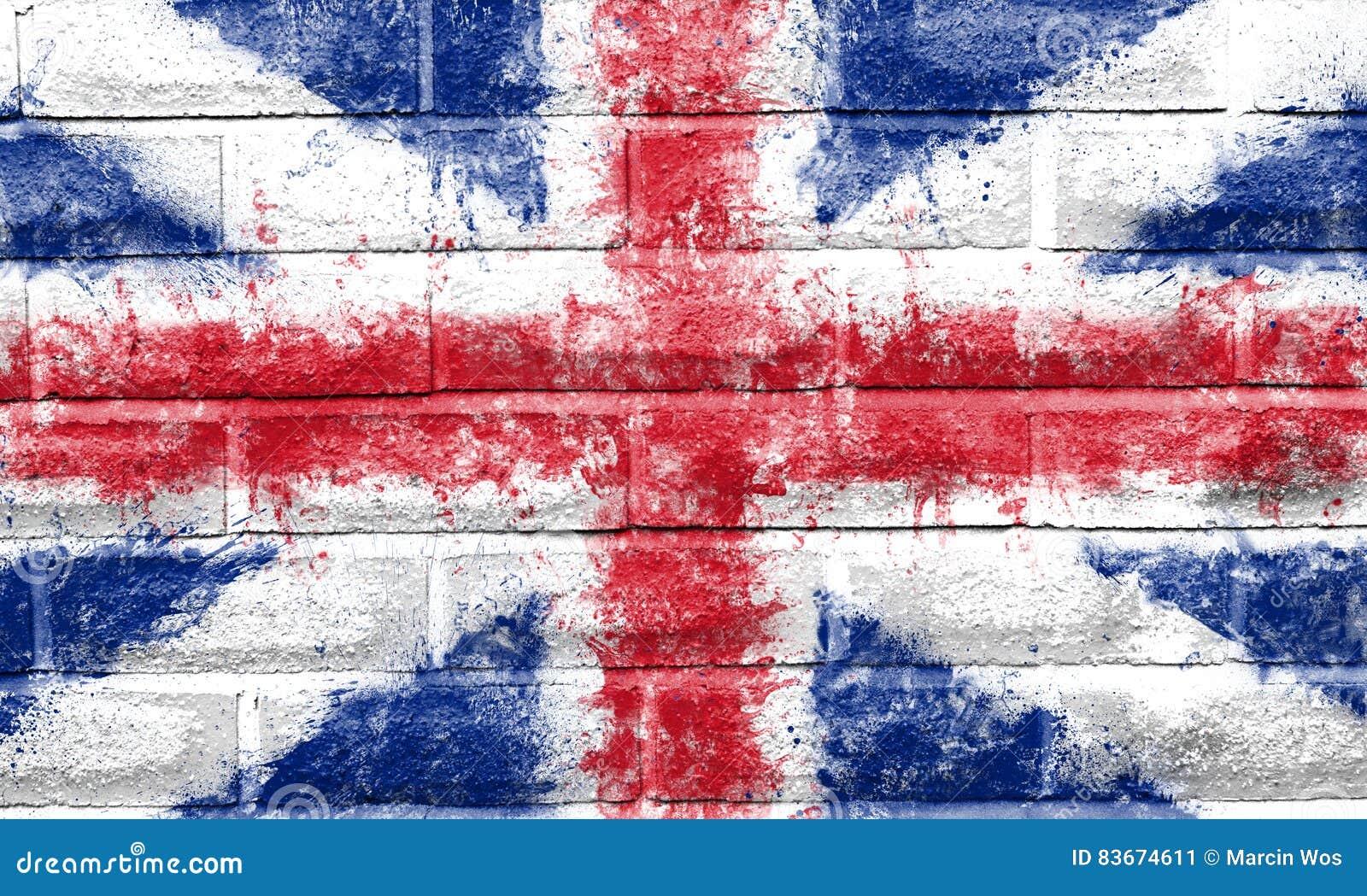 Gemaltes Union Jack