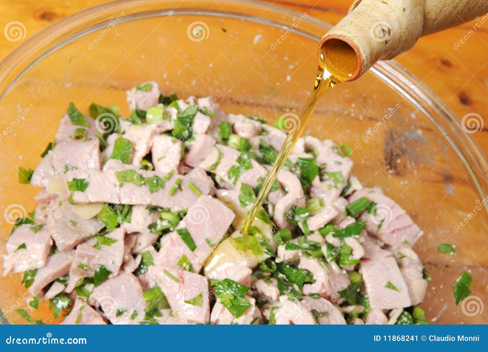 Gemarineerde tonijn