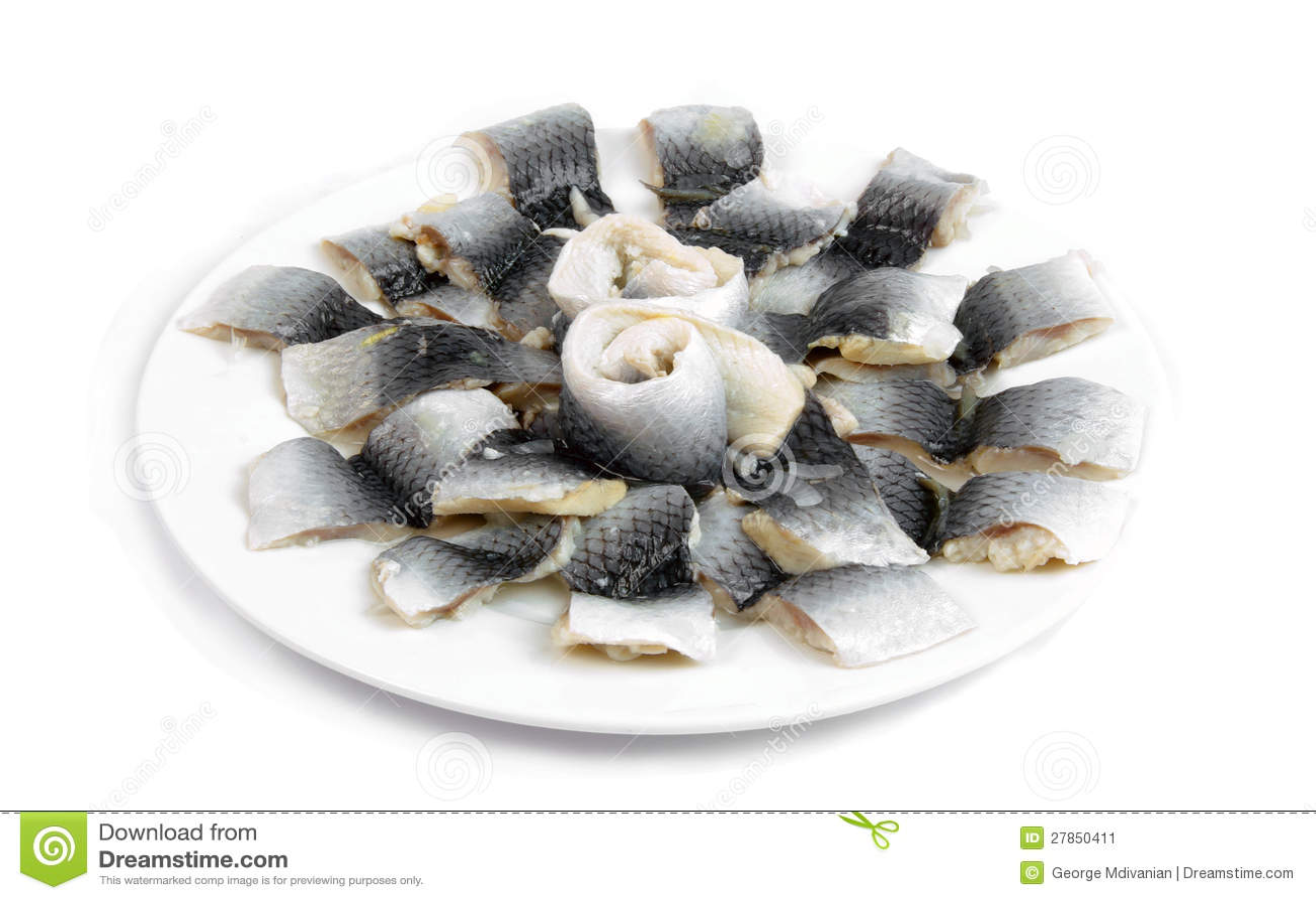 Gemarineerde vissen