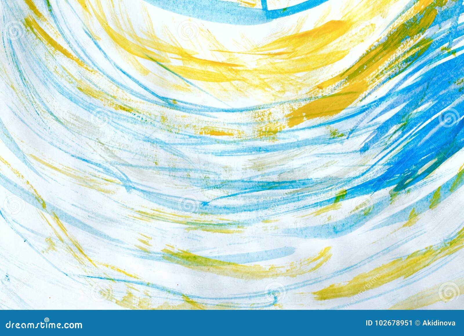 Gemarmorter blauer abstrakter Hintergrund Flüssiges Marmormuster