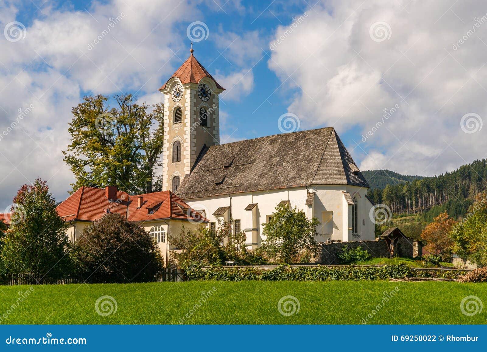 Gemeindekirche in ObermÃ-¼ hlbach