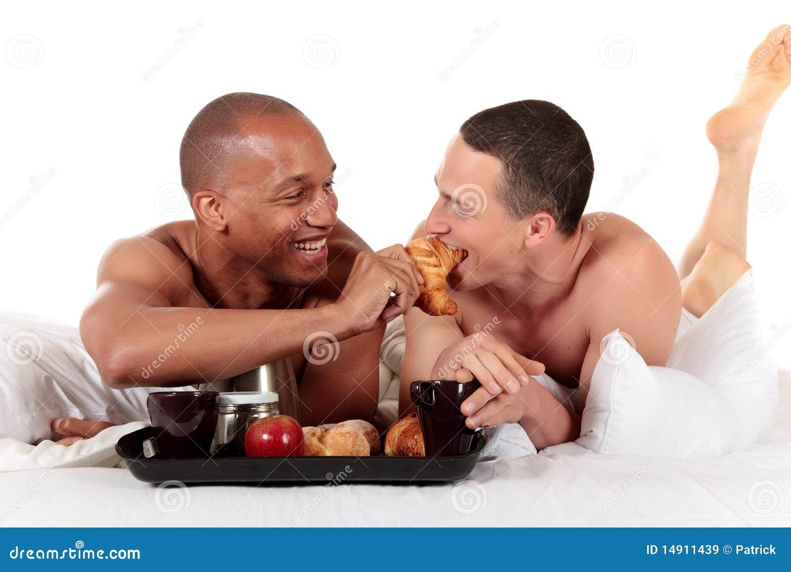 Gemengd het behoren tot een bepaald ras vrolijk paar