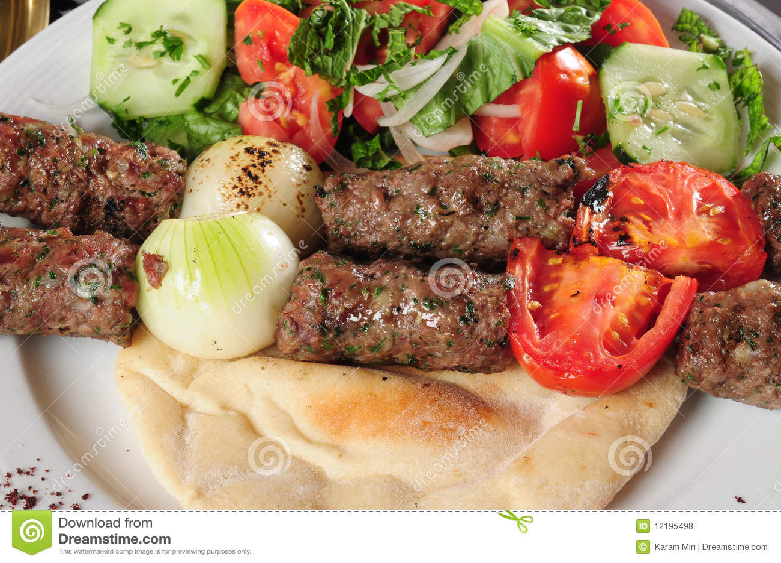Gemengd kebab