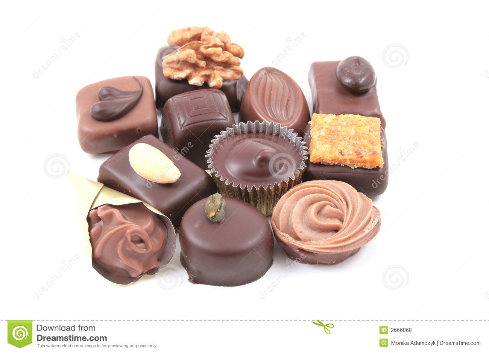 Gemengde chocolade