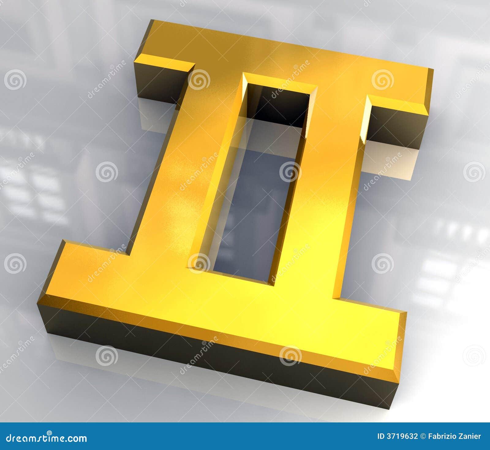 Gemini astrology symbol in gold 3d stock illustration gemini astrology symbol in gold 3d isolated astrological buycottarizona