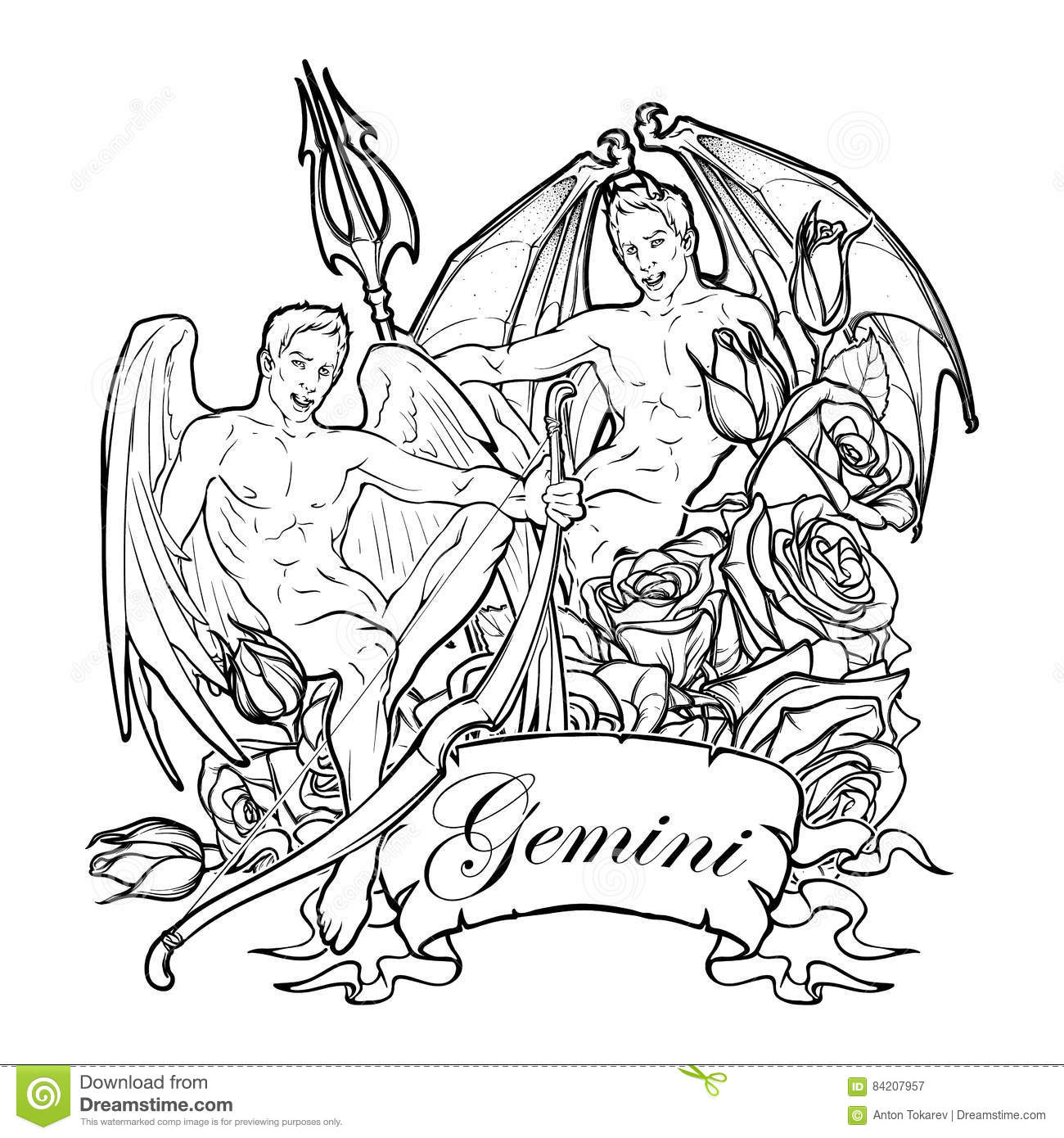 africain zodiac coloring pages - photo#3