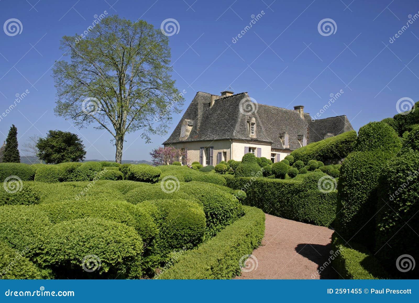 Gemodelleerd tuin en huis