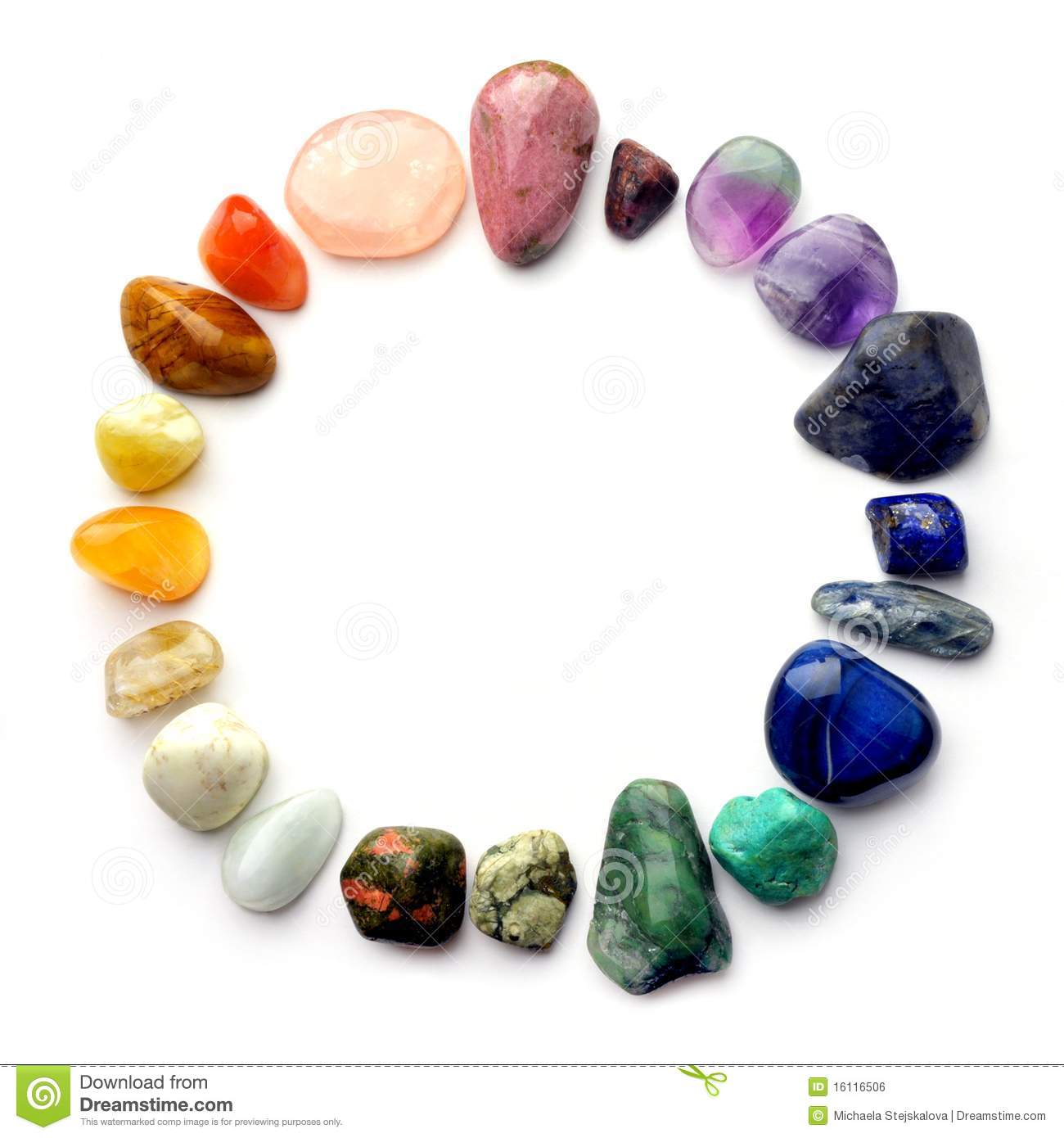gems color spectrum royalty free stock image image 16116506