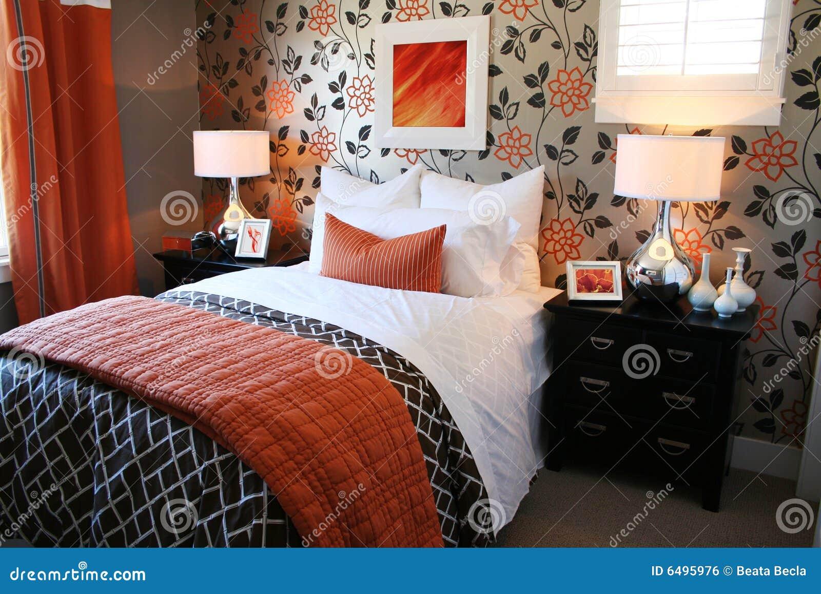 Gemütliches Schlafzimmer Lizenzfreies Stockbild - Bild: 6495976